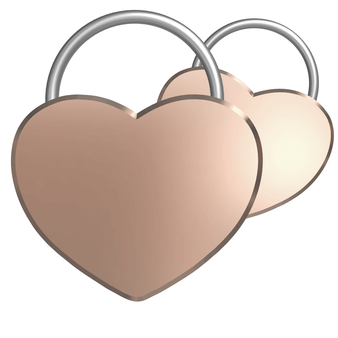 Double Heart Lock